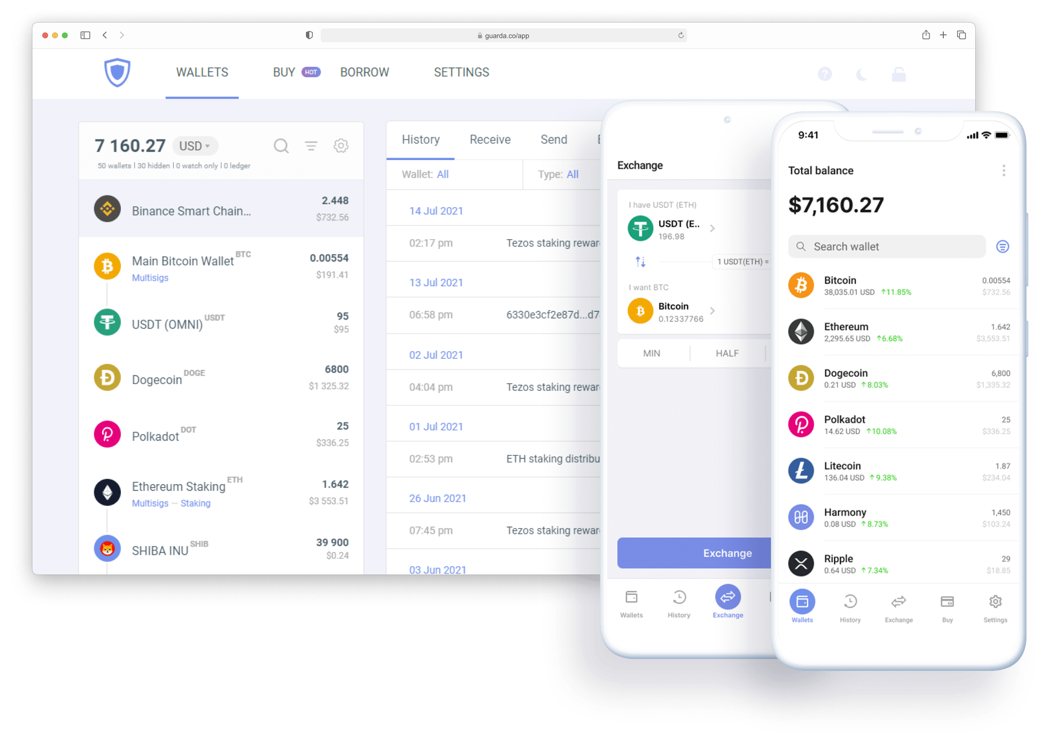Guarda Web Wallet