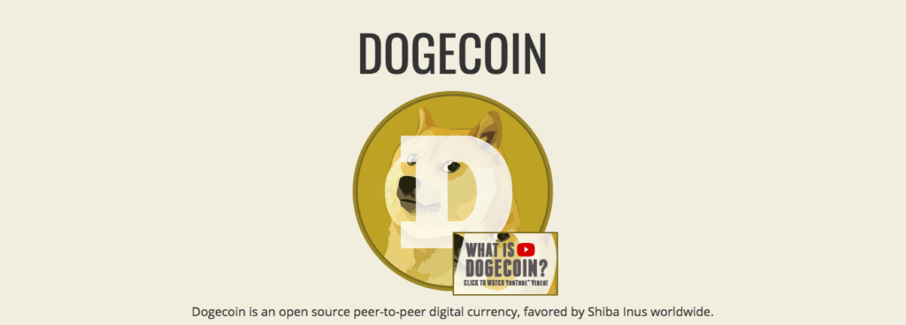 Doge cryptocurrency