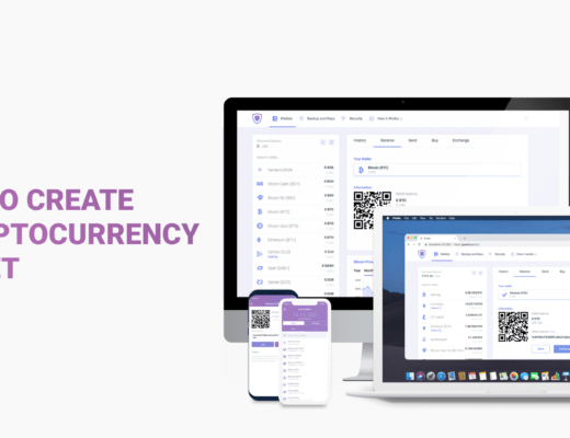 create a cryptocurrency wallet