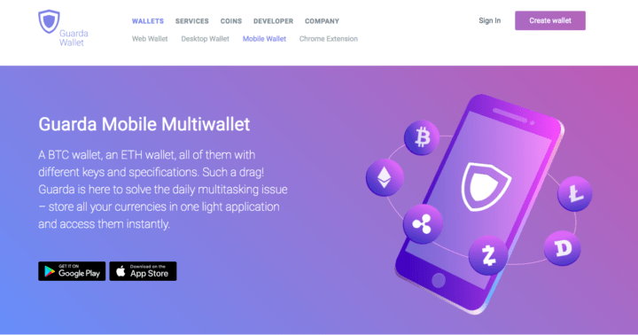 mobile crypto wallet
