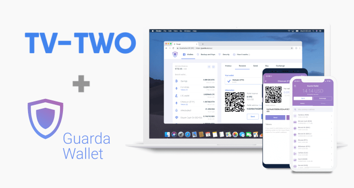 TTV ERC TV-TWO mobile wallet
