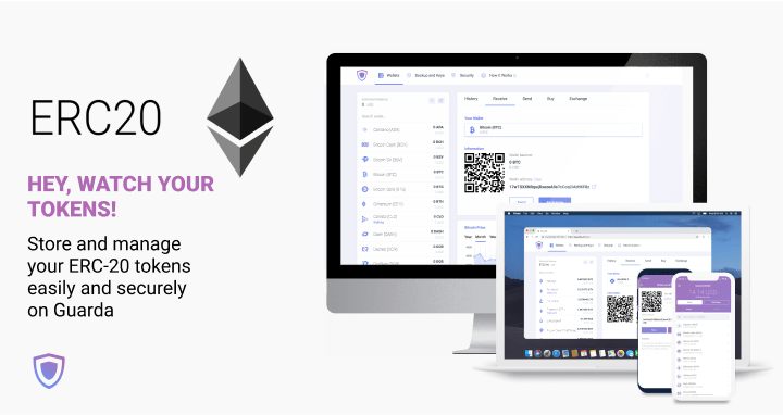 ERC-20 token wallet