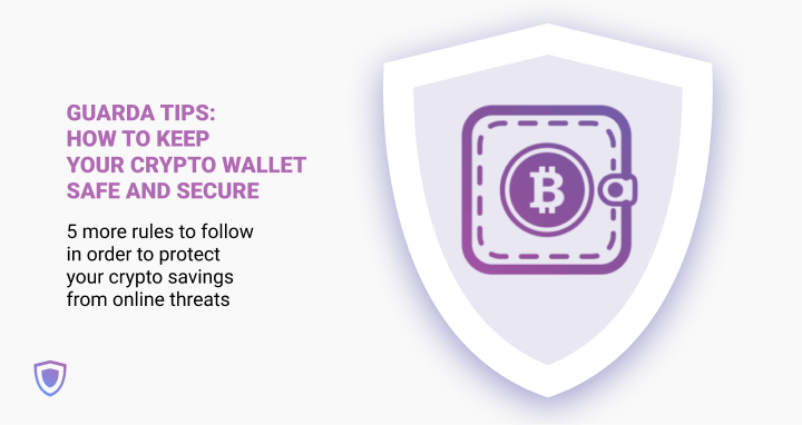 Protect crypto wallet