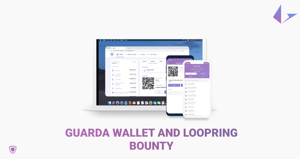 Guarda Wallet and Loopring bounty quiz