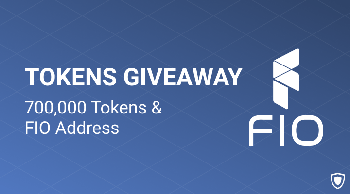 FIO Address Giveaway