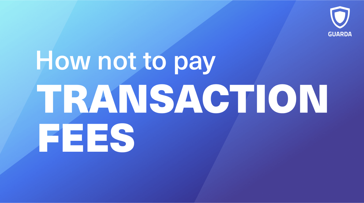 How not to pay transaction fees